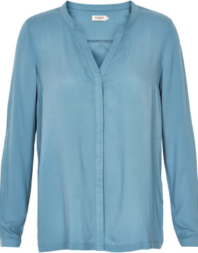 Blouse Soaked In Luxury 30401172 - Blauw