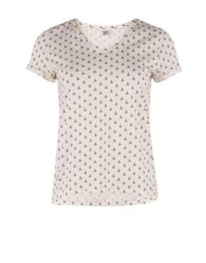 T-shirt Saint Tropez P1647 - Gebroken Wit