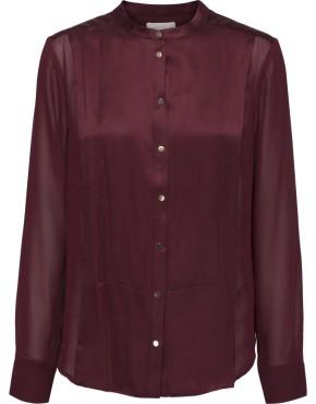 Blouse Minus MI2078 Tracie Shirt - Bordeaux
