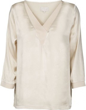 Top Minus MI2476 Galissa Blouse - Champagne
