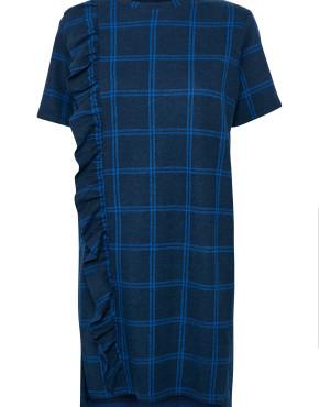 Jurk Soaked In Luxury 30403323 Claire Sweat Dress - Blauw