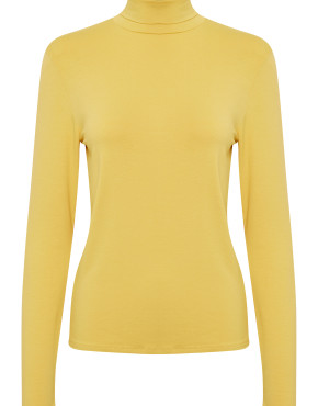 Top Soaked In Luxury 30403340 Hanadi Rollneck - Geel