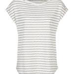 T-shirt By-Bar 19111003 Bobbie Top - Gebroken Wit