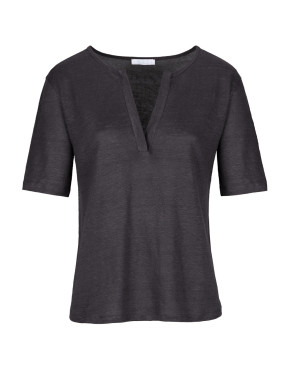 Top By-Bar 19111012 Loisa Linen - Phantom Black