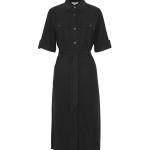 Jurk MbyM Eleena, Monet, Dress - Zwart