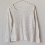 T-Shirt Ese O Ese 107600 Ts. Linen Stripes - Wit