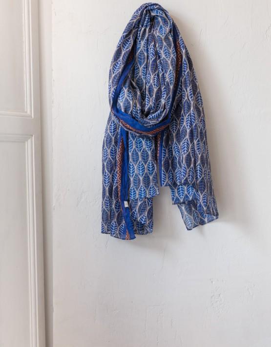 Sjaal Ese O Ese 107276 Chal Zanzibar - Blauw