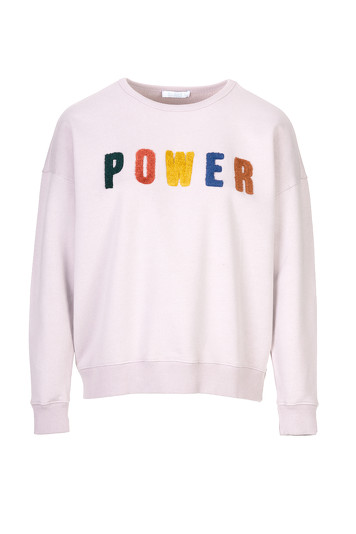 Sweater By-Bar 19515002 Becky - Lila Grijs