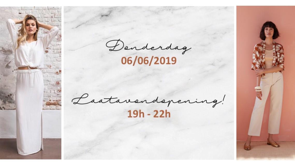 Laatavondopening donderdag 06/06/2019