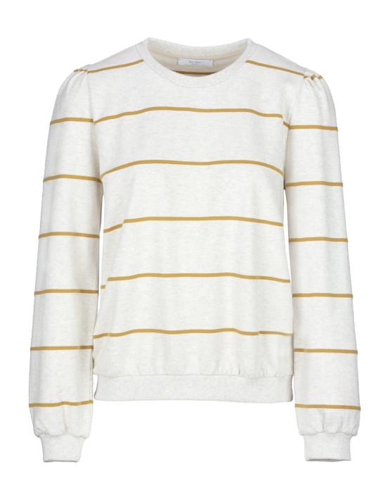 Sweater By-Bar 19415027 Nikki Stripe - Mustard