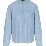 Blouse By-Bar 20112005 Paris Denim Blouse - Light Denim