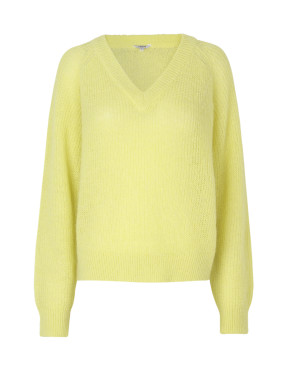 Trui MbyM 46337323 Franchesca,Woodson,Knit-Charlock Yellow