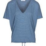 Top By-Bar 20111010 - Donna Melange Stripe Top - Indi Grey