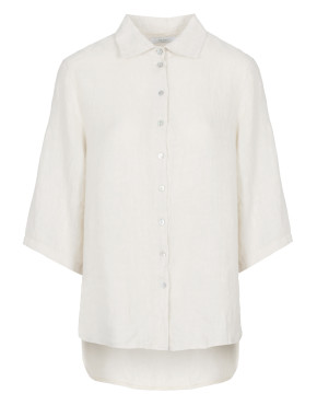Trui By-Bar 20112020  Bodil Linen Blouse - Linen