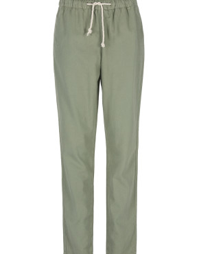 Broek By-Bar 20118011 Emily Pique Pant – Olive