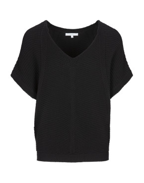 Trui By-Bar 20111016 - Suze Cotton Pullover - Zwart