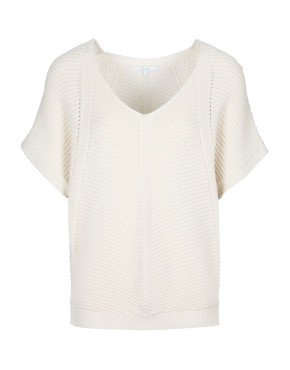 Trui By-Bar 20111016 - Suze Cotton Pullover - Off White