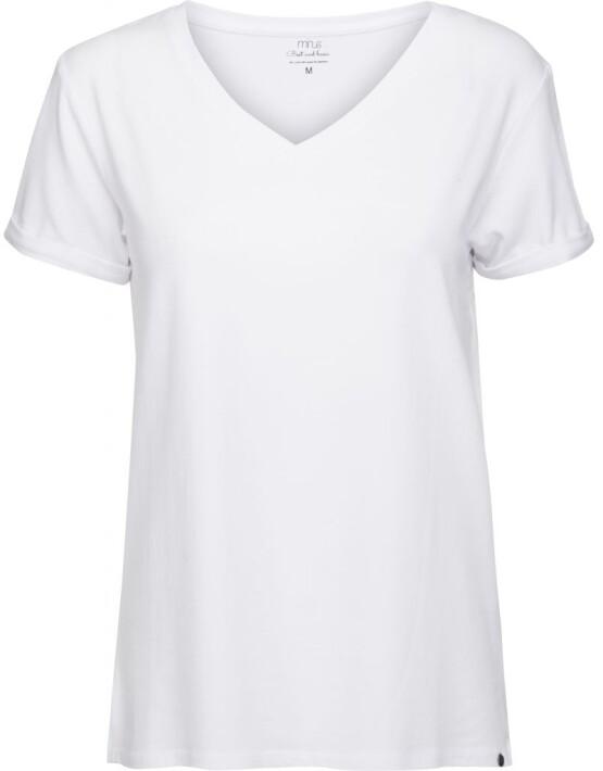 T-shirt Minus MI1901 - Adele Tee - Wit