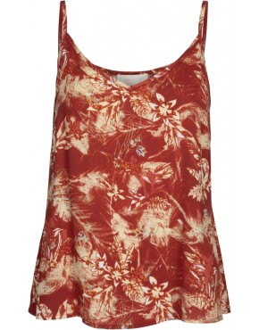 Top Minus MI3463 - Sunja Top - Palm Print