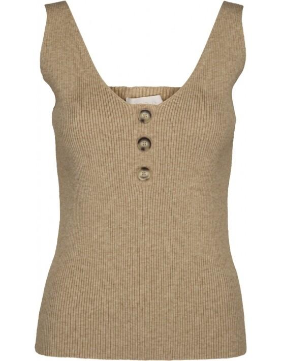 Top Minus MI3493 - Bounty Knit Top - Vanilla