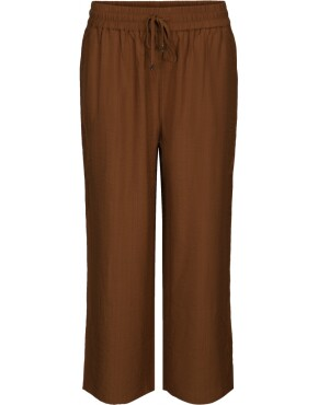 Broek Minus MI3552 - Udine Culotte Pants - Brown Sugar