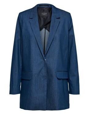 Blazer Selected Femme 16074162 - Jeanne Denim Blazer - Denim