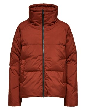 Jas Selected Femme 16073858 - Daisy Down Jacket - Smoked Paprika
