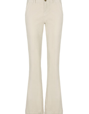 Broek By-Bar 20518014 - Leila Velvet Twill Pant - Silver Stone