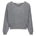 Trui By-Bar 20515017 - Sofie Pullover - Dark Grey Melange