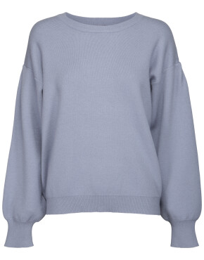 Trui Minus MI3181 - Lupi Knit Pullover - Dusty Blue
