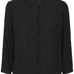 Blouse Minus MI3868 - Jilla Shirt - Zwart