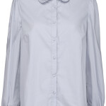 Blouse Minus MI4127 - Ela Shirt - Dusty Blue