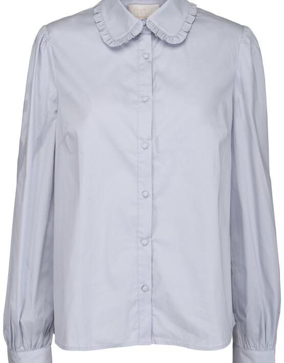 Blouse Minus MI4127 - Ela Shirt - Dusty Blue