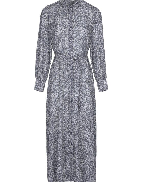 Jurk By-Bar 21217018 - Yara Botanic Dress - Blue