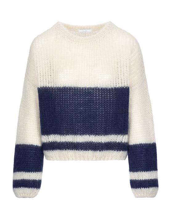 Trui By-Bar 21215011 - Evi Astro Pullover - Blue