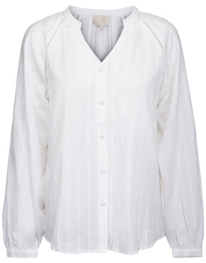 Blouse Minus MI3921 - Bella Shirt - Cloud Dancer - 69,95€