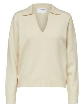 Trui Selected Femme 16078540 - SLFAEYA - Sandshell - 59,99€