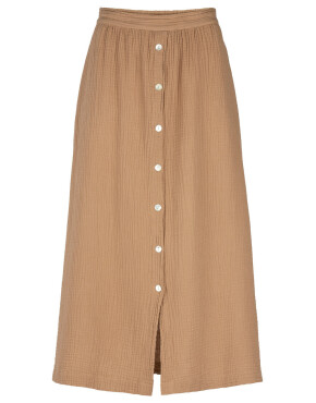 Rok By-Bar 21218101 - Nine Skirt - Coffee