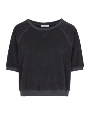 Trui By-Bar 21211004 - Neva Slub Sweater - Jet Black