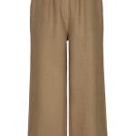 Broek By-Bar 21218002 - Ines Linen Pant - Sepia