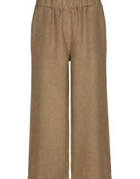 Broek By-Bar 21218002 - Ines Linen Pant - Sepia