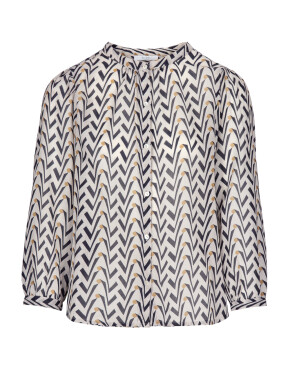 Blouse By-Bar 21212011 - Lora Coconut Blouse - Egg Shell - 89,95€