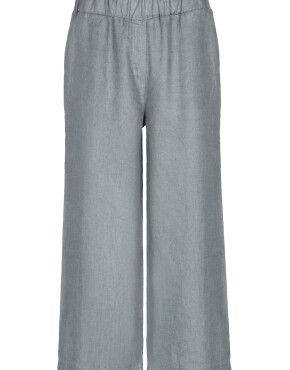 Broek By-Bar21218002 - Ines Linen Pant - Smoke Blue - 89,95€