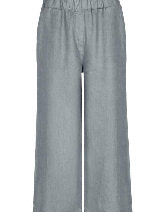 Broek By-Bar21218002 - Ines Linen Pant - Smoke Blue - 89,95€