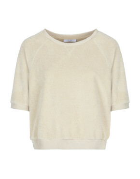 Sweater By-Bar 21311002 - Neva Slub Top - Chalk - 79,95€