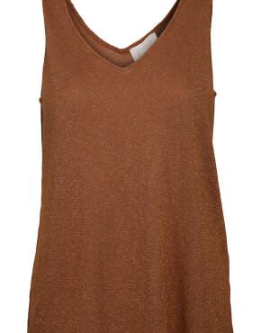 Top Minus MI2965 - Carli Knit Top - Burned Hazel - 59,95€
