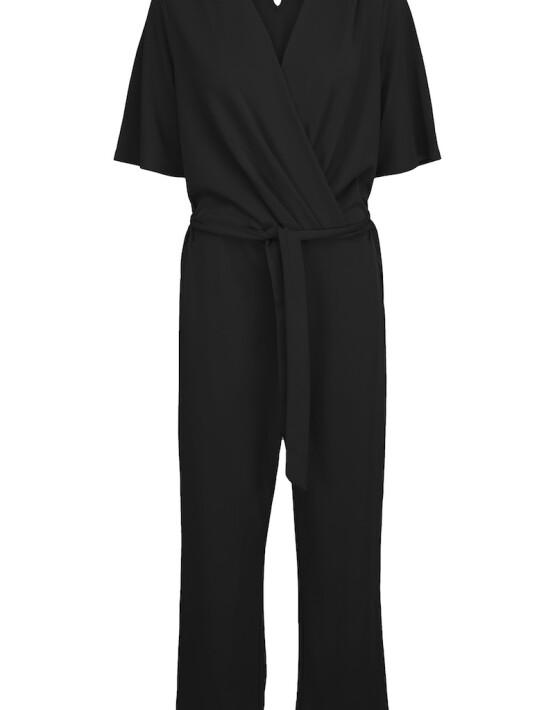 Jumpsuit Minus MI4011 - Kristine Jumpsuit - Zwart - 119,95€
