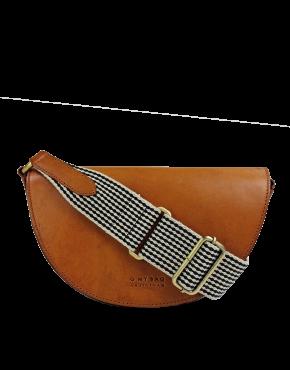 Schoudertas O My Bag E146 - Laura - Cognac Classic Leather - 199,95€