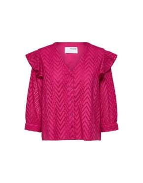 Blouse Selected Femme - SLFJosa - Rose Violet - 79,99€