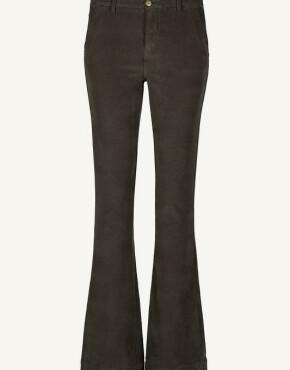Broek By-Bar 21518015 - Leila Velvet Twill Pant - Shadow - 129,95€